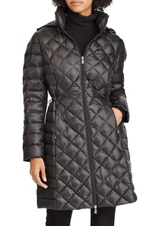 Lauren Ralph Lauren Packable Hooded Down Jacket