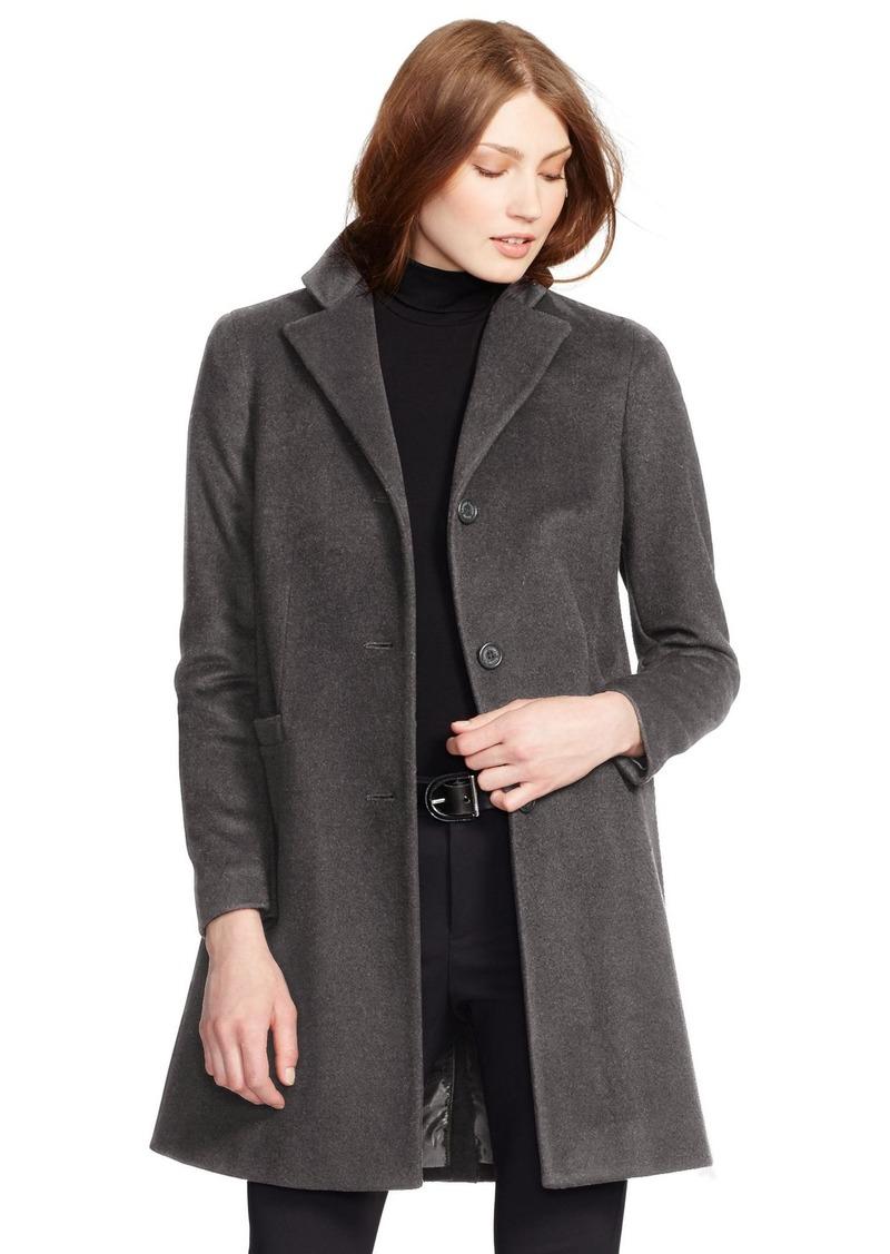 f0a8886cf21b Lauren Ralph Lauren Paige Wool Blend Reefer Coat (Regular   Petite)