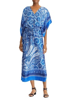 Lauren Ralph Lauren Paisley Maxi Dress