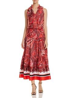 Lauren Ralph Lauren Paisley-Print Maxi Dress
