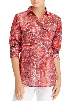 Lauren Ralph Lauren Paisley-Print Shirt