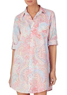 Lauren Ralph Lauren Paisley Sleep Shirt