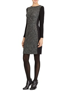 Lauren Ralph Lauren Paneled Knit Dress