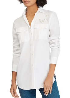 Lauren Ralph Lauren Patch-Detail Shirt