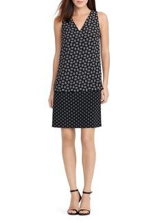 Lauren Ralph Lauren Pattern Block Popover Dress