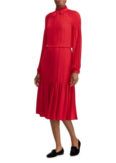 Lauren Ralph Lauren Peasant Dress