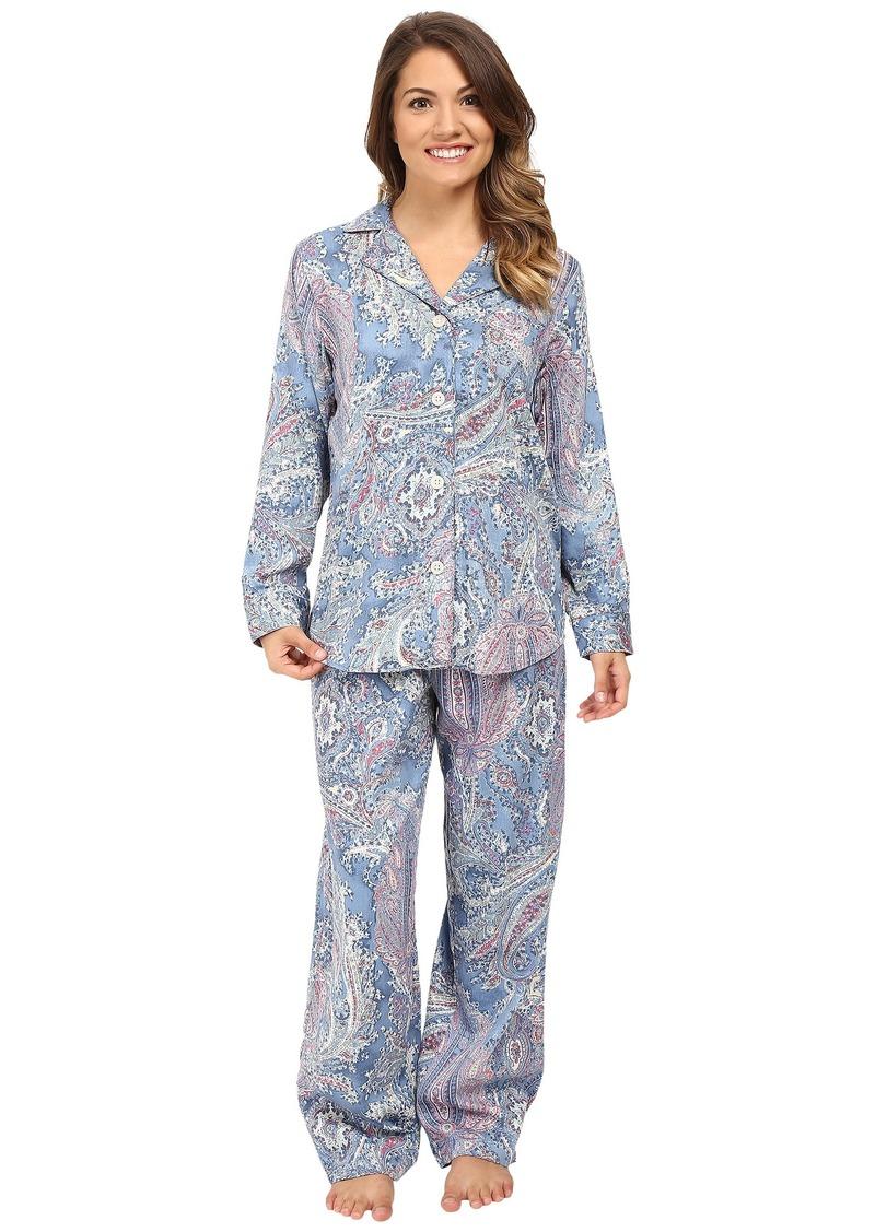 c9a0775c92 Ralph Lauren LAUREN Ralph Lauren Petite Cotton Sateen Pajamas ...