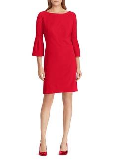 Lauren Ralph Lauren Petites Bell-Sleeve Jersey Dress