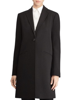 Lauren Ralph Lauren Pick Stitch Reefer Coat