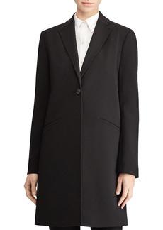 Lauren Ralph Lauren Pick Stitch Reefer Coat