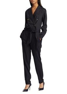 Lauren Ralph Lauren Pinstripe Jumpsuit
