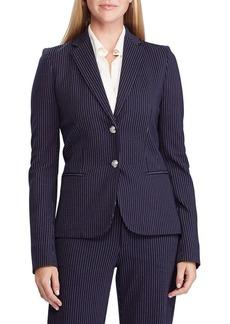 Lauren Ralph Lauren Pinstripe Ponte Jacket