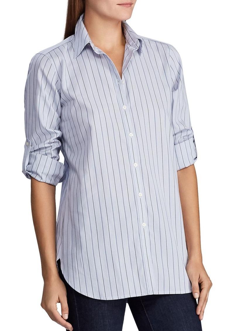 Lauren Ralph Lauren Pinstripe Shirt