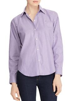 Lauren Ralph Lauren Pinstriped No-Iron Shirt