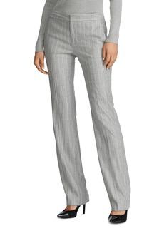 Lauren Ralph Lauren Pinstriped Straight-Leg Pants