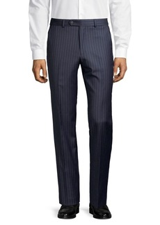 Lauren Ralph Lauren Classic-Fit Pinstriped Wool-Blend Suit Separate Pants