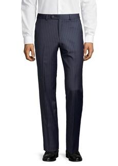 Lauren Ralph Lauren Classic-Fit Pinstriped Wool-Blend Suit Separate Pants