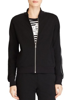 Lauren Ralph Lauren Piped Bomber Jacket
