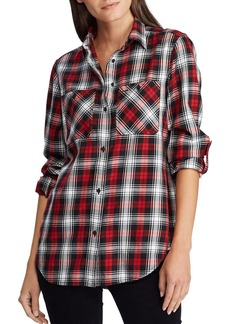 Lauren Ralph Lauren Plaid Camp Shirt