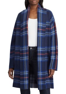 Lauren Ralph Lauren Plaid Cotton-Blend Cardigan