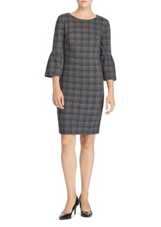 Lauren Ralph Lauren Plaid Jacquard-Knit Dress