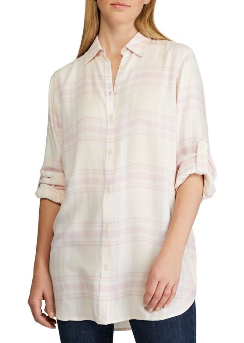 Lauren Ralph Lauren Plaid Relaxed-Fit Shirt