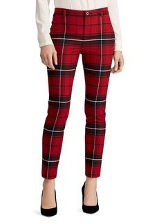 Lauren Ralph Lauren Plaid Straight-Leg Pants