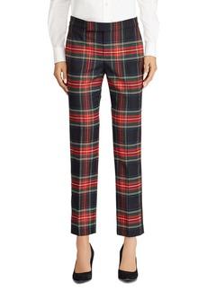 Lauren Ralph Lauren Plaid Straight Pants - 100% Exclusive