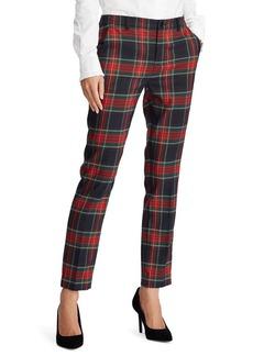 Lauren Ralph Lauren Tartan-Plaid Print Suit Pants
