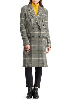 Lauren Ralph Lauren Plaid Trench Coat