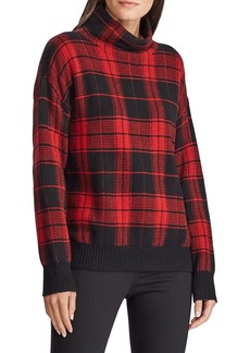 Lauren Ralph Lauren Plaid Wool-Blend Sweater