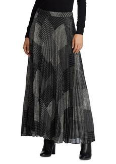 Lauren Ralph Lauren Pleated Skirt