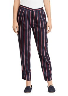 Lauren Ralph Lauren Pleated Stripe Pants