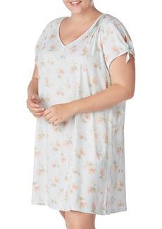 Lauren Ralph Lauren Plus Floral Cotton Nightgown