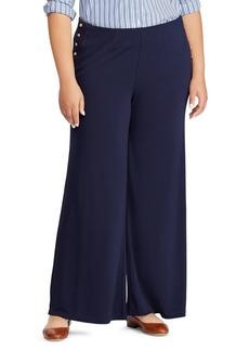 Lauren Ralph Lauren Plus High Rise Flared Pants