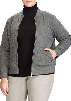 Lauren Ralph Lauren Plus Bomber Jacket