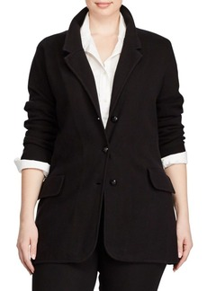 Lauren Ralph Lauren Plus Knit Sweater Blazer