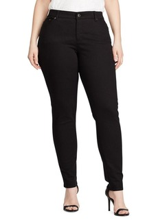 Lauren Ralph Lauren Plus Plus Size Superstretch Skinny Jeans