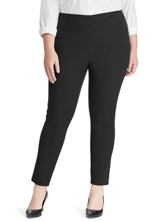 Lauren Ralph Lauren Plus Stretch Twill Skinny Pants