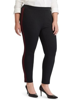 Lauren Ralph Lauren Plus Ponte High-Rise Skinny Pants
