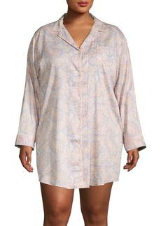Lauren Ralph Lauren Plus Printed Sleepshirt