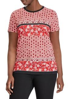 Lauren Ralph Lauren Plus Printed T-Shirt