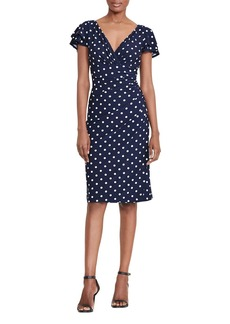 Lauren Ralph Lauren Polka-Dot Dress