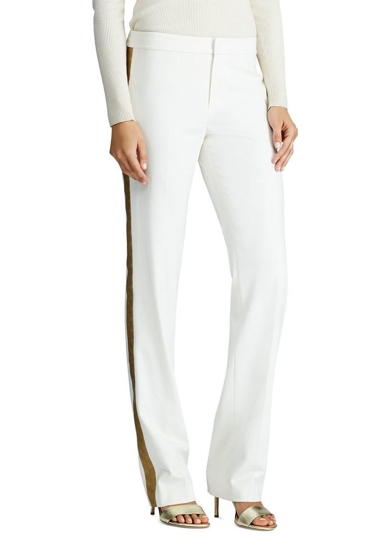 Lauren Ralph Lauren Ponte Jacquard Stripe Pants