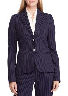 Lauren Ralph Lauren Ponte Knit Pinstripe Jacket