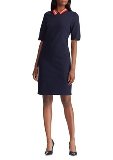Lauren Ralph Lauren Ponte Shift Dress