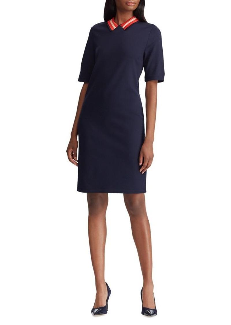 Lauren Ralph Lauren Ponte Shift Dress