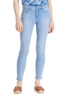 Lauren Ralph Lauren Premier Skinny Cropped High-Rise Jeans