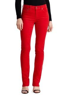 Lauren Ralph Lauren Premier Straight-Fit Corduroy Pants