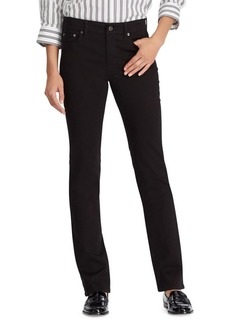 Lauren Ralph Lauren Premier Straight Sateen Jeans